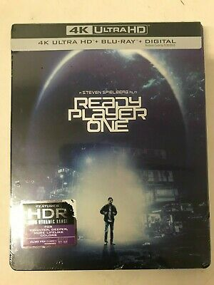 READY PLAYER ONE (4K + Blu-Ray) Best Buy Edition STEELBOOK