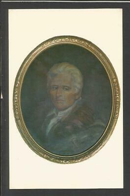 Daniel Boone Portrait VF unposted Card>Painting from the late 18th Century