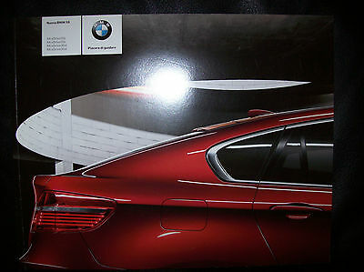 Bmw X6 Depliant Brochure catalogo Italiano