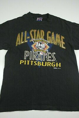 Vintage 1993 Pittsburgh Pirates All Star Game T Shirt Size L Trench Made in  USA 9b58cf9bb