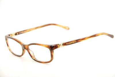 d568affc6ad New Authentic Tiffany   Co. TF 2036 8116 Havana Gold 52mm Eyeglasses Italy  RX
