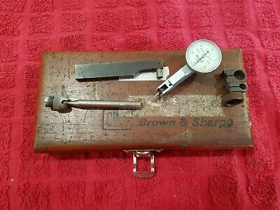 Brown & Sharpe Bestest Indicator Set 7030-2 *Missing Pieces*For Parts*Machinist