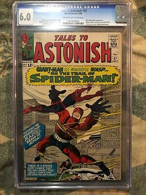 Tales to Astonish 57 CGC 6.0  Early Spider-Man/Wasp App. Jack Kirby Art Stan Lee