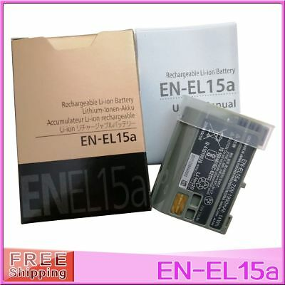 EN-EL15A EN-EL15 Battery For Nikon D7100 D750 D610 D7500 D7200 MH-25 Charger