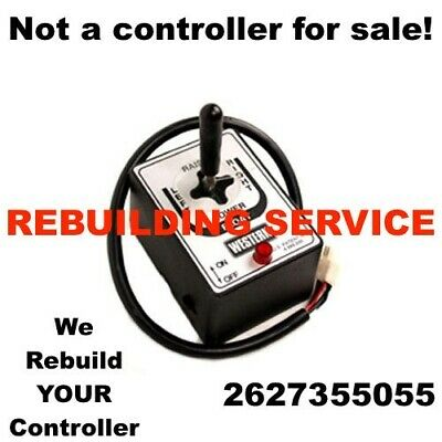 Rebuilding Service For Joystick Board Fisher Western Snow Plow Controller Repair