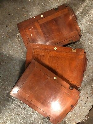 Vintage Wooden Camera Plates 8x6Inches