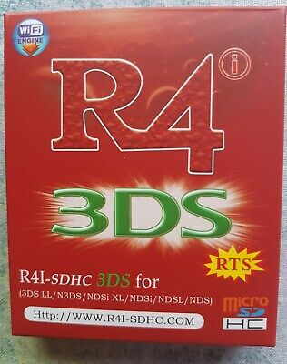 R4 3Ds Card Cartridge - R4-SDHC 3DS for 3DSLL/N3DS NDSi XL/ NDSi /NDSL /NDS