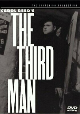The Third Man (The Criterion Collection) DVD Spine # 64