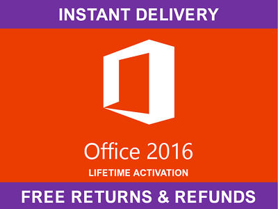 Microsoft Office 2016 Professional Plus - Genuine License Key - INSTANT delivery