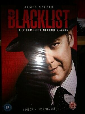 The Blacklist Season 2 DVD - brand new and sealed