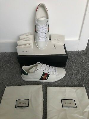 4e4b2a9191c STUNNING GUCCI ACE BEE Trainers size 6 (38.5) BRAND NEW IN BOX RRP ...
