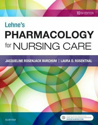 "Lehne's Pharmacology for Nursing Care 10th Edition [""PDF Read Description""]"