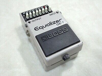 Boss GE-7 Equalizer Effect Pedal ACA