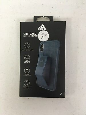 100% authentic 1bf5b 43a12 ADIDAS PERFORMANCE GRIP Case for iPhone X Blue - $9.15 | PicClick