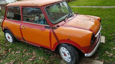 1990 Rover Mini Mayfair 998 project spares or repair