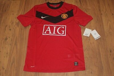 7ea08473861 Manchester United Home Football Shirt 2009/10 Nike Man Utd Large L Bnwt