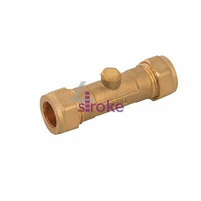Double Check Valve Brass Stainless Steel And Polymer One Way Valve 15mm