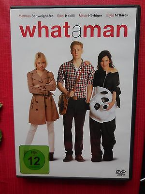 What a man whataman Matthias Schweighöfer Disc DVD Film Video FSK 12 NEU
