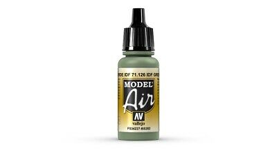(VAL126) - AV Vallejo Model Air 17ml  - IDF Green