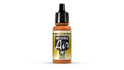 (VAL130) - AV Vallejo Model Air 17ml  - Orange Rust