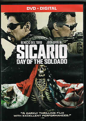 Sicario Day Of The Soldado 2018 Dvd Movie Watched Once! Dvd Only Brolin Del Toro