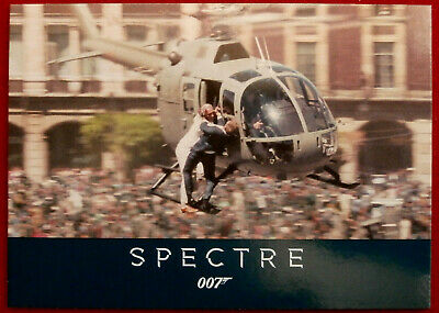 JAMES BOND - SPECTRE - Card #006 - HELICOPTER FIGHT - Rittenhouse
