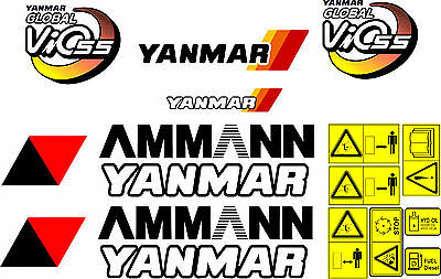 Yanmar Vio 55 Digger Decal Set