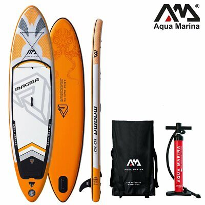 Aqua Marina Magma Stand Up Planche Pagaie Sup pour Barbotter Gonflable Isup