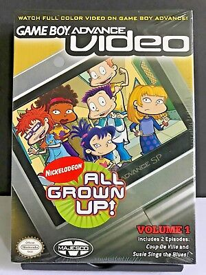 GBA Video Rugrats All Grown Up Vol 1 Nintendo Gameboy Advance Factory Sealed NEW