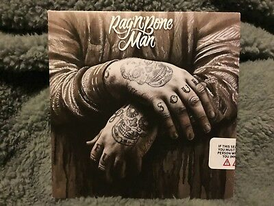 RAG 'N' BONE MAN - Human UK 2015 Columbia promo CD test press sampler 4-track
