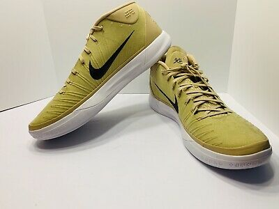 timeless design d773a 23777 Men Nike Size 18 Kobe AD TB Promo Basketball Shoes Gold Dark Grey 942521-