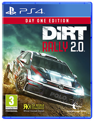 DiRT RALLY 2.0 - Day One Edition   PS4  PAL  (Release  Date  22  FEB  2019 )