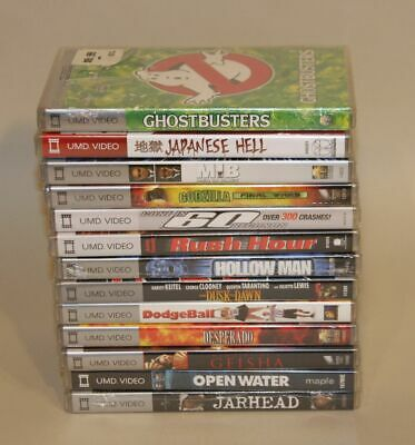13 UMD Video PSP NEW SEALED Godzilla Men in Black Japanese Hell Ghostbusters +