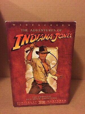 The Adventures of Indiana Jones, The Complete DVD Movie Collection, Widescreen