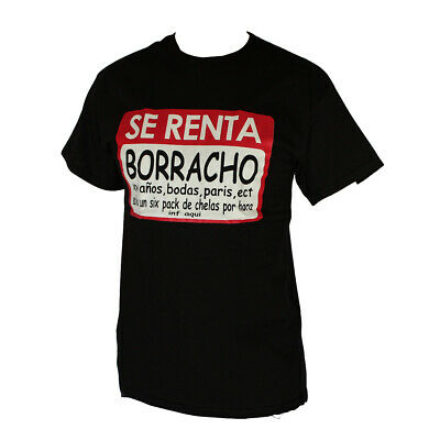 Se Ranta Borracho Graphic Men's T-Shirt