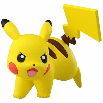 "Takara Tomy Pokemon MC-070 Pikachu Battle VER. 2"" XY Moncolle Collection Figure"