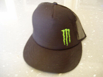MONSTER ENERGY MESH snapback trucker hat New Unused -  9.99  0edd14bd565
