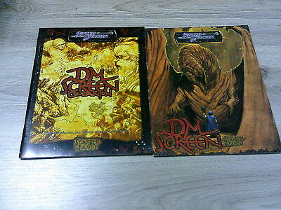 d20 Scarred Lands DM Screen with Companion  Sword & Sorcery VG