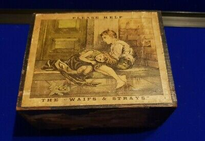 Late 19th/Early 20th Century Waifs & Strays C of E Collection Money Box