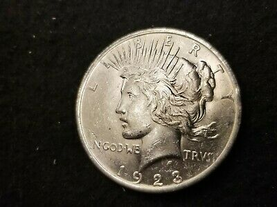 1923 P Uncirculated Silver Peace Dollar