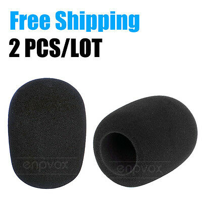 Microphone Windscreen Sponge Foam Pop Filter For Audio Technica AT2020 AT2050