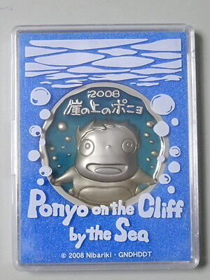 Ponyo on the Cliff by the Sea Medal Studio Ghibli Hayao Miyazaki Anime Movie
