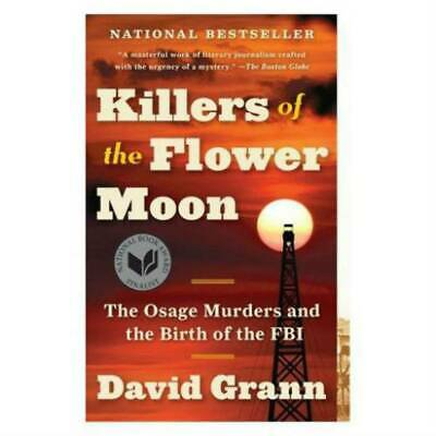 Killer Of Flower Moon by David Grann _30 Second Delivery_Fast Shipping[E-B 00K]