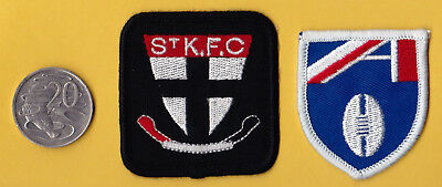 RARE St Kilda Saints IRON ON PATCH  FOR FOOTBALL shorts and AFL patch