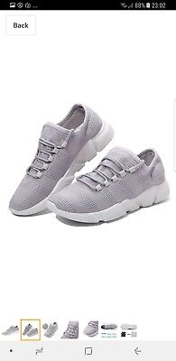 Sports Running Shoes, Mesh Running Trainers Casual Athletic Fashion Breathable S