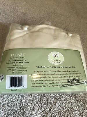 Natural Organic Cotton Fitted Crib Sheet — New