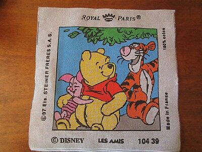 Royal Paris Tapestry Of Winnie The Pooh, Tigger & Piglet Tapestry To Sew.