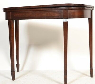 Antique 18th/19th Century Mahogany side table