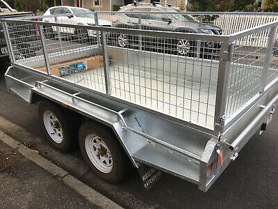 WERRIBEE - $50/day -  Trailer HIRE 10x5 Dual Axle with Cage