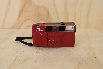 Kodak S100 EF S Series - Red Point and Shoot 35mm Film Camera